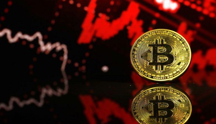 سقوط قیمت بیت کوین