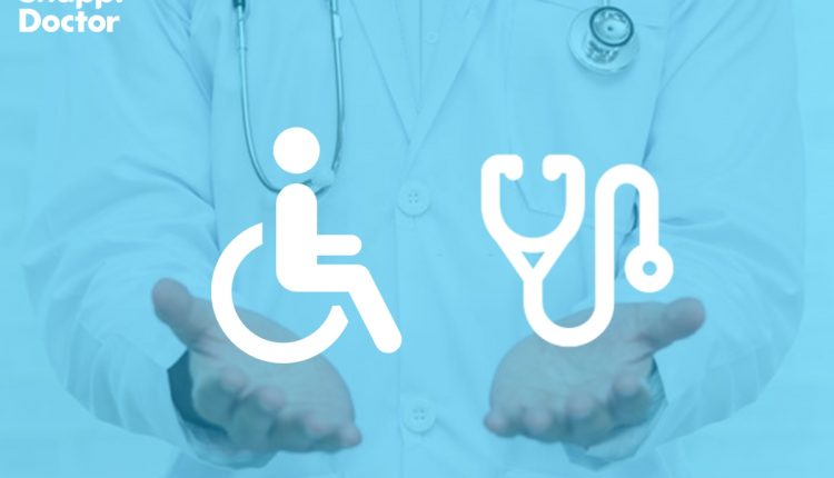خدمات رایگان اسنپ دکتر برای معلولان و بیماران خاص