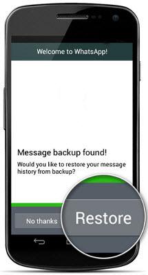انتقال چت واتساپ از گوشیهای اندروید به آیفون